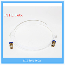 1M 3D Printer PTFE Tube for Long-distance, 3D Printer J-head Hotend for 1.75mm 3D Bowden Extruder with free shipping