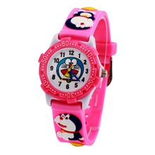 WL Waterproof Kid Watches Children Doraemon 3D cartoon Silicone Wristwatches Brand Quartz Fashion Casual Relogio watch