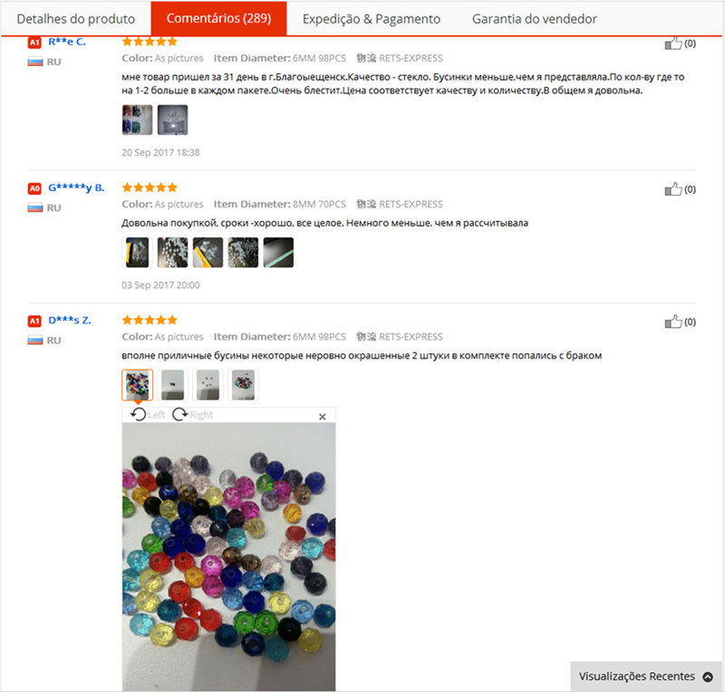 Rondelle Faceted Beads (17)