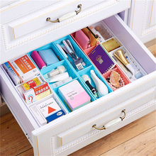Adjustable New Drawer Organizer Home Kitchen Board Divider Makeup Storage Box Pencil Jewelry Organizer