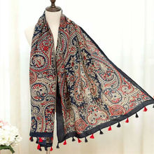 Luxury women scarf vintage print high quality shawl Brand design muslim wraps big pashmina fashion muffler hot sale new scarf