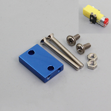 Buy 5pcs/lot TT Speed Reduce Motor Fixed Seat Hard Aluminum Alloy Plating Bracket DIY RC Model Motor Supporter Accessories for $5.66 in AliExpress store