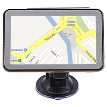 5 inch Multifunction Vehicle GPS Navigation Navigator with Voice Guidance Touch Screen FM Radio E-book Audio Video Player Maps(China)