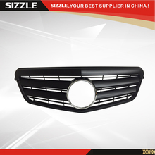 ABS Plastic Matt Black Auto Front Grille For Mercedes W212 E-Class 2009-2013 CL Style(China)