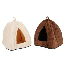 Luxury Soft Pet Dog House For Pets Cats Home Shape Furnature Puppy Beds Dogs Mats Kennel For Small Meduim Dogs Cats Products(China)