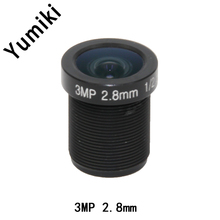 Yumiki 3.0Megpixel M12 MTV 2.8mm 3MP HD CCTV Camera Lens IR HD Security Camera Lens Fixed Iris