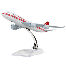 New Malaysia Airlines Boeing 747-200 16cm airplane models child Birthday gift plane models toys Free Shipping(China)