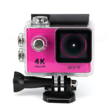 R9 Ultra HD 4K WiFi 1080P/60fps Remote Action Digital Camera Extreme Sport Video Camcorder Helmet Go Waterproof Pro Cam Yellow