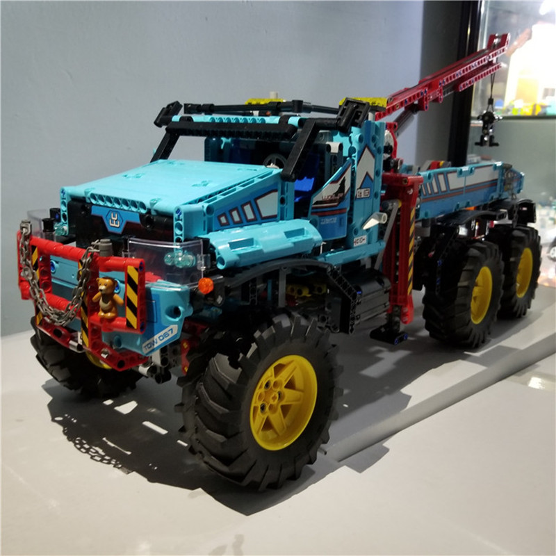 IN-STOCK-H-HXY-20056-1912Pcs-The-Ultimate-All-Terrain-6X6-Remote-Control-Truck-Set-Lepin (1)