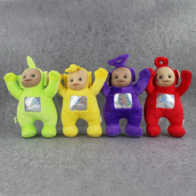 4Pcs/Lot 30cm Teletubbies Plush Toys Laa Po Tinky Dipsy Plush Doll Stuffed Soft