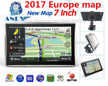 Oriana 7 inch HD Car/Truck GPS Navigation 800M/ FM/8GB/126MB  Maps For Russia/Belarus/Kazakhstan Europe/USA+Canada