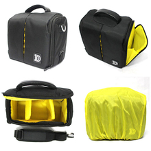 Waterproof Rain Cover Black Camera Shoulder Strap Bag for Nikon D5100 D5200 D5300 D3200 D3300 D3100 D3000 D5000 D7000 D7100 D800