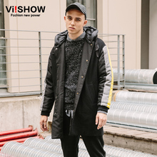 VIISHOW 2017 New Autumn Long Jacket Coat Men Brand Clothing Fashion Windbreak Jacket Male top quality Mens Overcoat  FC41164(China (Mainland))
