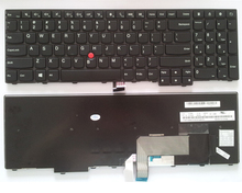 New Laptop Keyboard for Lenovo Thinkpad Edge E531 E540 T540 T540p W540 Series 04Y2426 0C44991 0C45217 US Layout black