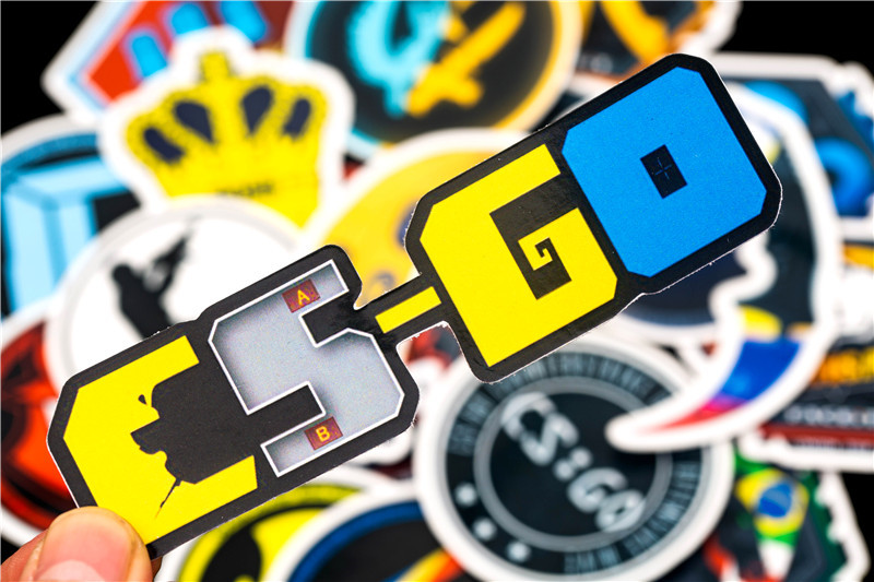 20PCS 2018 New CS GO Game Stickers Children Stickers For Kids Luggage Skateboard Laptop Motorcycle Toy Stickers Sets (6)