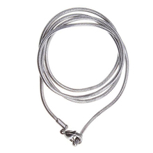 Fashions Silver Rope Stainless Steel Mens Snake Chain Necklace Best Gift New C799