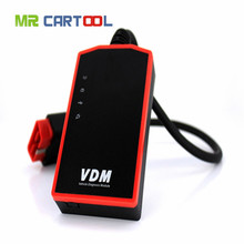 Original VDM UCANDAS V3.9 Full System Professional Wifi OBDII Automotive Diagnostic Tool Support WindowsPC / Android Phone