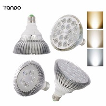Ultra Bright Dimmable E27 E26 PAR16 PAR30 PAR38 9W 14W 18W 24W 30W 36 W LED Light Bulb Lamp Spotlight Indoor Lighting 110V 220V