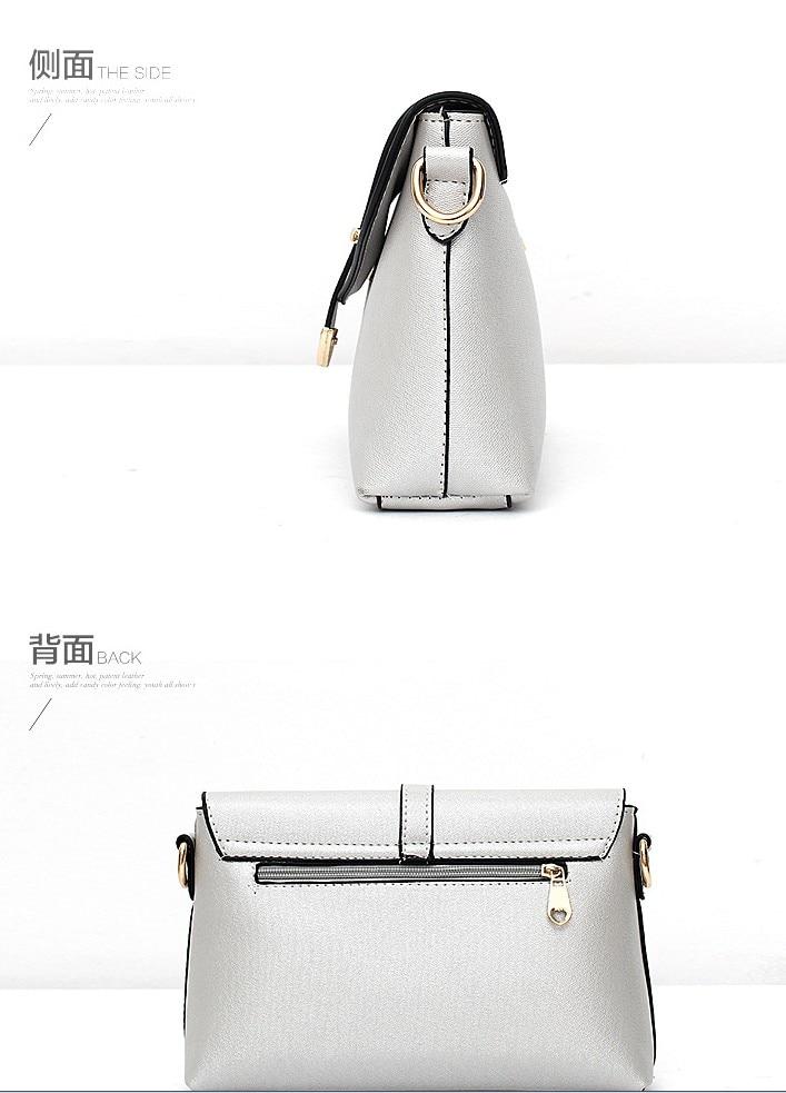 New Women Small Messenger Bag 2017 Fashion Crossbody Bags Leisure Ladies Pu Leather Female Luxury Shoulder Bag