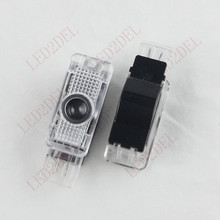 LED Door Light Projector Logo Lamp For Mercedes-Benz SLK SLR C Class W639 W240 W209 R171 R199 (2pcs)(China)