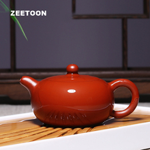 180cc Authentic Yixing Teapot Chinese Health Yulu Pot Purple Clay Kung Fu Tea Set Dahongpao Tea Pot Master Handmade Zisha Kettle