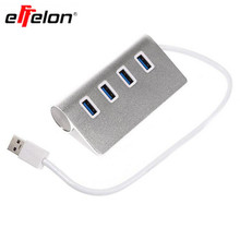 effelon Premium 4 Port Aluminum USB 3.0 Charger for iMac/MacBook/MacBook Pro/MacBook Air/Mac Mini or Mobile Phone(China)