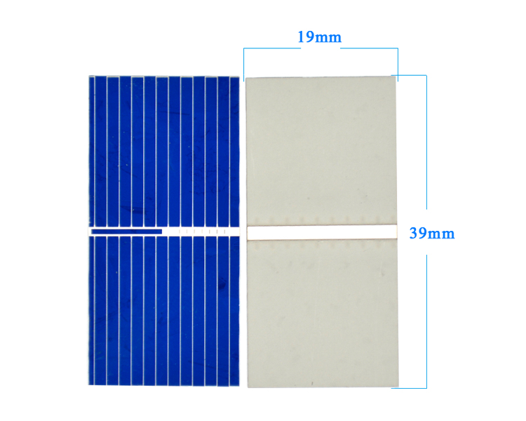100Pcs Solar Panel China Painel Cells DIY Charger Polycrystalline Silicon Placa Solar Bord 39x19MM 3