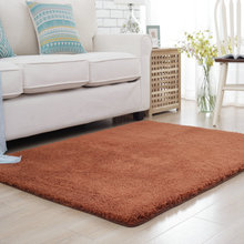 Buy 200X250CM Solid Plush Soft Carpets Living Room Warm Home Bedroom Carpets Coffee Table Area Rug Children Room Play Floor Mat for $36.72 in AliExpress store