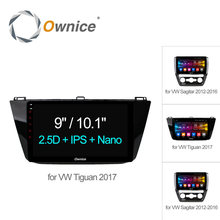 Ownice C500+ 10.1 Android 6.0 Octa Core Car GPS PC for VW Tiguan Sagitar 2012 - 2016 2017 4G sim carplay DAB TPMS Radio Players(China)