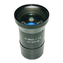 5-100mm Lens HD 3-55 Degree CS Mount Infrared Night Vision Manual Zoom Lens For CCTV Security Camera