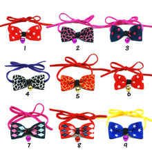3pcs/lot Colorful High Quality Pet Dog Tie Bow Grooming Puppy Cat Bowtie Necktie Chihuahua Yorkshire Poodle Accessories Products(China)