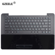 GZEELE new RU laptop keyboard with C shell for ASUS UX30 UX30S UX30K35A Topcase Housing Palmrest Russian With C CASE BLACK(China)
