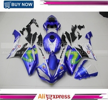 Complete ABS Plastic Fairing Kit For Yamaha R1 2007 2008 07 08 UV Painting VR46 Movistar Fairings YZFR1 With Full Tank Cover(China)