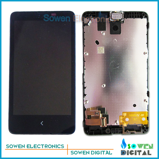 LCD display screen with touch screen digitizer with frame assembly full set for Nokia X RM-980 1045 Normandy, new<br><br>Aliexpress