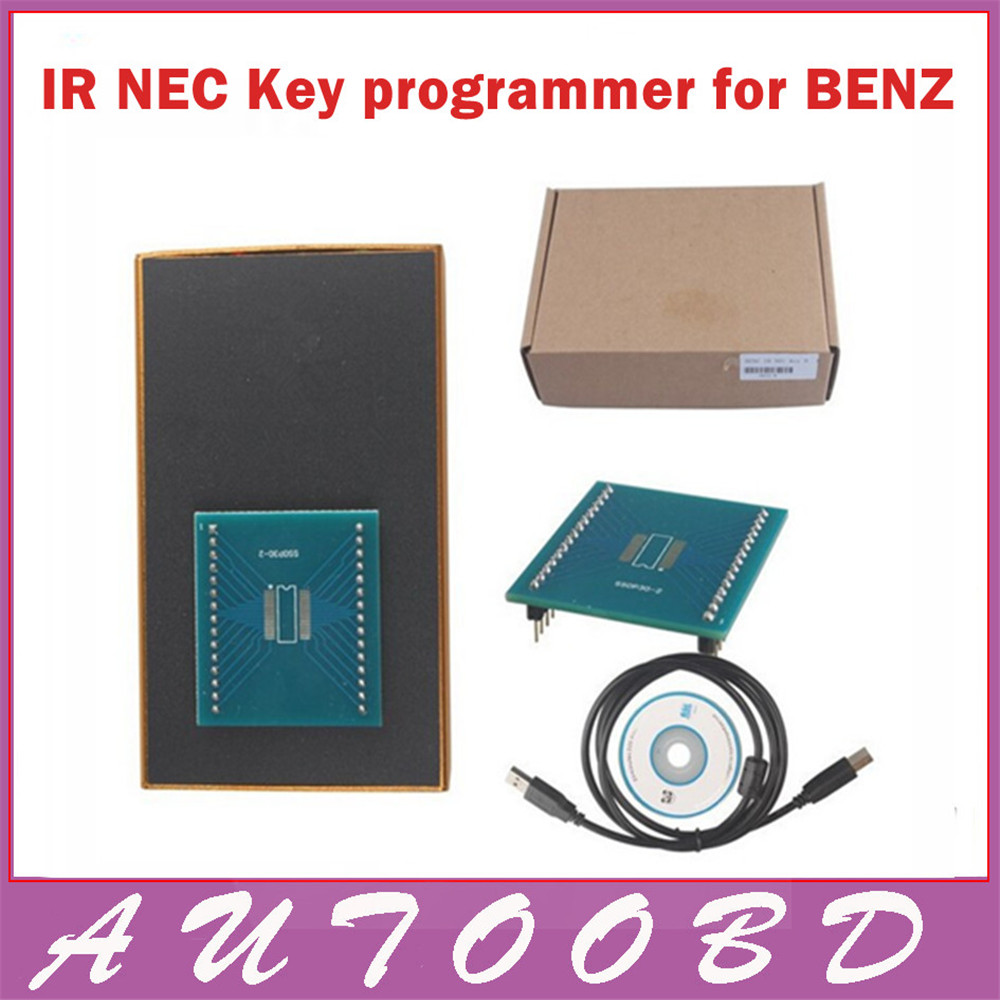 New 2017 MB IR NEC Key Programmer For Benz Tools Electric Free Shipping<br><br>Aliexpress