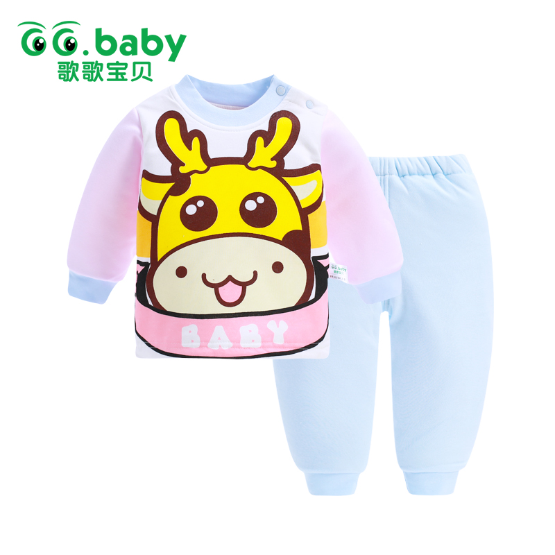 Winter Animal 2pcs/Set Baby Suits Clothes Winter Baby Clothing Set Bebes Suit Warm Tops Pants Infant Newborn Girl Clothes Sets<br><br>Aliexpress