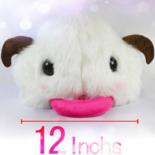 Wholesale Games Poro White and Pink Cotton hat, Top Quality Drop Shipping Games Cosplay Poro Hat Caps Limited