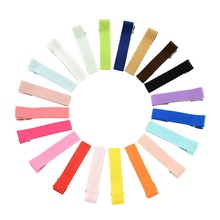 20 Pcs/lot Small Lovely Solid  Hairclip Whole Wrapped Safety Hair Clips Kids Hairpins Hair Accessory  666