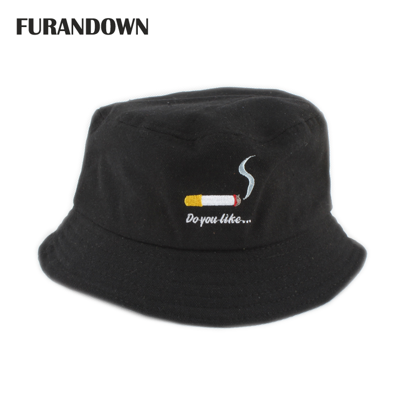New Two Sides Wear Summer Hats for Men Women Bucket Hat Sun Protection Fishing Hat Hip Hop Cap