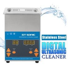 GT SONIC VGT-1620QTD 2L Ultrasonic Cleaner Digital Stainless Steel Timer Heating Setting Bath Cleaning Jewelry Watch Glasses(China)