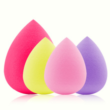 2 Sizes Seire 1 Great Soft Sponge Drop Shape Make up puff Foundation Smooth Sponge Cosmetic Powder Puff