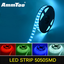 600LEDs/5M Silicone Tube Waterproof SMD 5050 RGB Double Row LED Strip Flexible light 12V For Deepwater Swimming Pool, Fish Tank(China)