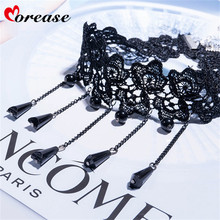 Buy Morease Lace Sex Toys Bondage Necklace Sexy Rhinestone Neck Ring Couple Women fetish Adult Game BDSM Toys brinquedos sexuais