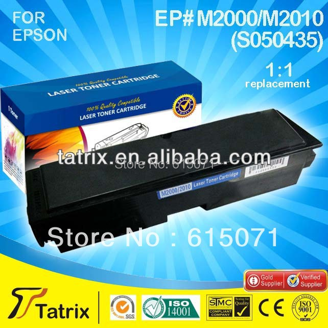 High capacity  S050435 for epson carbon black cartridges,apply to AcuLaser M2000D M2000DT M2000DTN printer.<br><br>Aliexpress