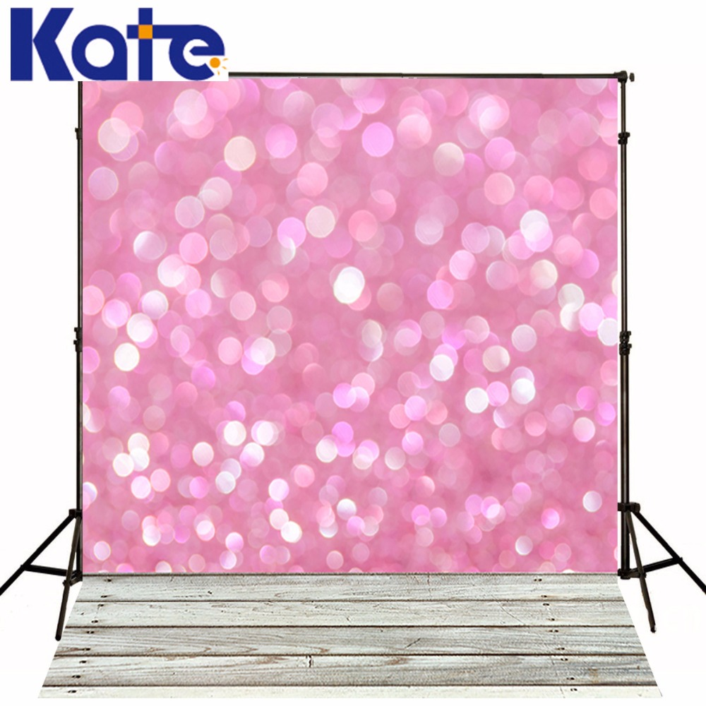 KATE Photo Background Wedding Backdrop Pink Photography Backdrops Vintage Wood Floor Background for Photography Studio<br>