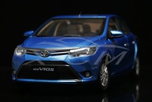 Diecast Car Model New Toyota Vios 1:18 (Blue) + SMALL GIFT!!!!!