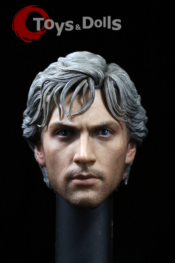1/6 Scale Male Head Sculpt Moive Avengers 2: Age of Ultron Quicksilver Head Carving For 12 HT Figure Body Model Toys Accessory<br><br>Aliexpress