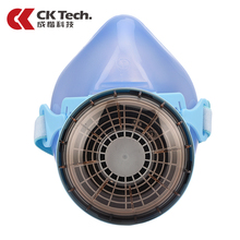 CK Tech Brand New Design Gas Mask Anti-Dust Chemical Paint Spray Respirator Mlitary Training Mascara De Gas Militar Gas Mask 401(China)