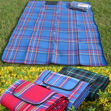 1.5x2.0M Waterproof Outdoor Foldable Beach Picnic Camping Multiplayer Moistureproof Mat Blanket Folding Baby Climb Plaid Blanket