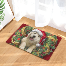 2017 New Christmas Print Carpets Non-slip Kitchen Rugs for Home Living Room Floor Mats 40x60cm(China)